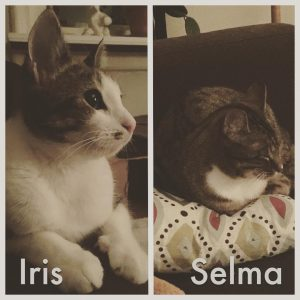 Iris och Selma